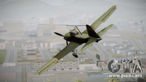 ИЛ-10 de la Fuerza Aérea de Estados unidos para GTA San Andreas left
