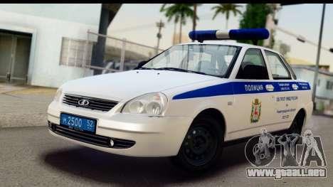 VAZ 2170 PAPS para GTA San Andreas