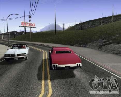 Medium ENBseries v1.0 para GTA San Andreas tercera pantalla