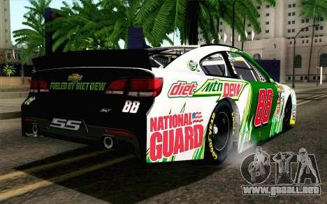 NASCAR Chevrolet SS 2013 v4 para GTA San Andreas left