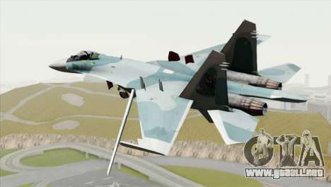 Sukhoi SU-27 PMC Reaper Squadron para GTA San Andreas left