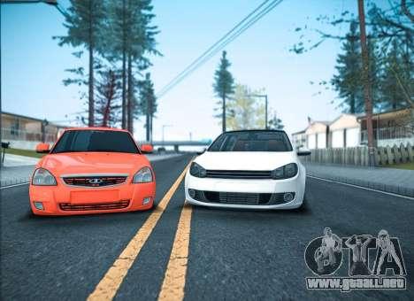 ENB por medio de la PC para GTA San Andreas segunda pantalla