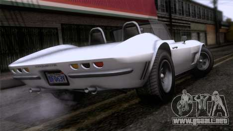 GTA 5 Invetero Coquette Classic TL para GTA San Andreas left