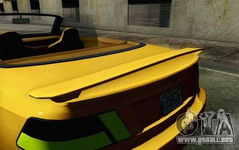 GTA 5 Ubermacht Sentinel Coupe para la visión correcta GTA San Andreas