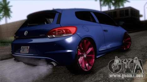 Volkswagen Scirocco GT 2009 para GTA San Andreas left