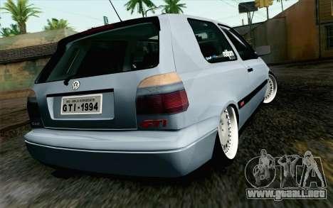 Volkswagen Golf Mk3 Eurolook para GTA San Andreas left