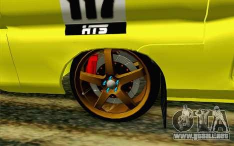 Daihatsu Espass Angkot YRT para GTA San Andreas vista posterior izquierda