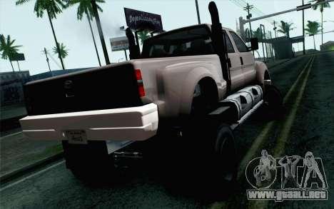Vapid Guardian GTA 5 para GTA San Andreas left