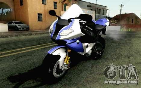 BMW S1000RR HP4 v2 Blue para GTA San Andreas
