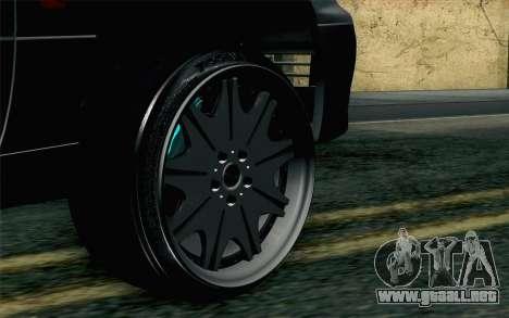 Lexus GS 300 para GTA San Andreas vista posterior izquierda