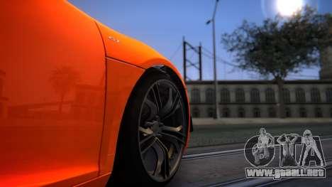 ENBG 2.0 para GTA San Andreas sucesivamente de pantalla