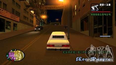 Para aumentar o disminuir el radar en GTA V para GTA San Andreas quinta pantalla