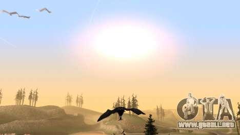 La posibilidad de GTA V para jugar a los pájaros para GTA San Andreas sexta pantalla