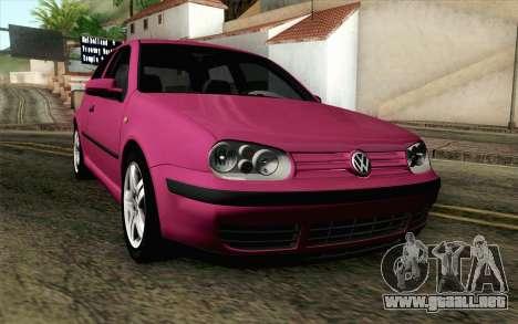 Volkswagen Golf v5 Stock para GTA San Andreas