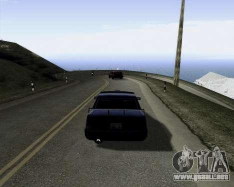 LineFlex ENBseries para GTA San Andreas segunda pantalla