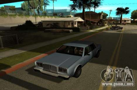 Shadows Settings Extender 2.1.2 para GTA San Andreas segunda pantalla