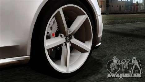 Audi A4 Avant 2013 para GTA San Andreas vista posterior izquierda
