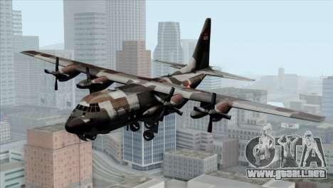 C-130B Indonesian Air Force (TNI AU) para GTA San Andreas