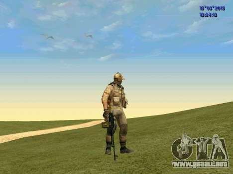 La policía de la milicia de Donbass para GTA San Andreas segunda pantalla