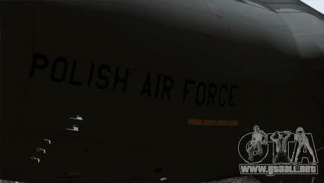 C-17A Globemaster III PAF para la visión correcta GTA San Andreas
