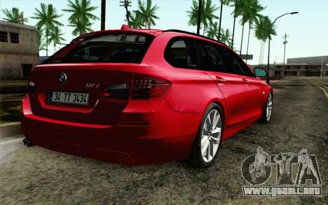 BMW 530d F11 Facelift IVF para GTA San Andreas left