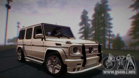 Mercedes-Benz G65 2013 AMG Body para GTA San Andreas