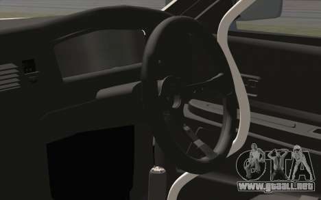 Toyota Chaser para GTA San Andreas vista hacia atrás