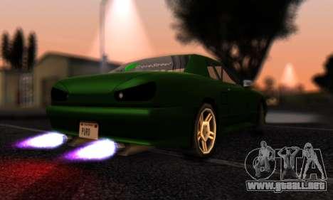 Elegy I Love GS v1.0 para GTA San Andreas vista posterior izquierda