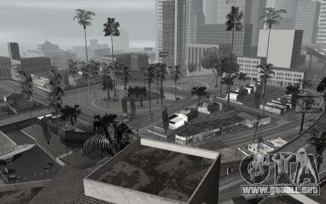 En blanco y negro ColorMod para GTA San Andreas