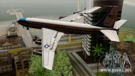 Boeing VC-137 para GTA San Andreas left