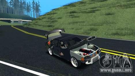 Toyota Chaser Tourer V Fail Crew para GTA San Andreas vista hacia atrás
