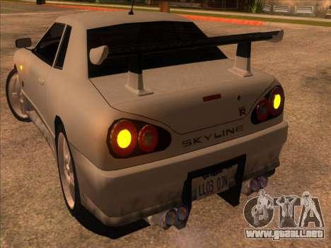 Elegy Skyline para la visión correcta GTA San Andreas