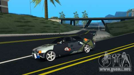 Toyota Chaser Tourer V Fail Crew para GTA San Andreas left
