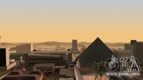La posibilidad de GTA V para jugar a los pájaros para GTA San Andreas sucesivamente de pantalla