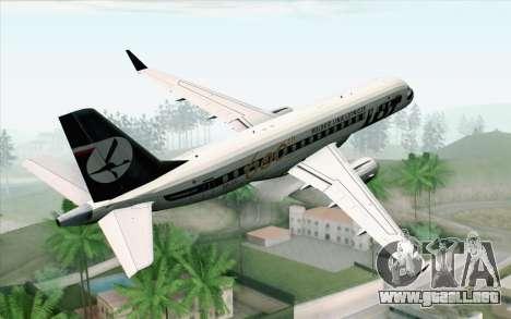 Embraer EMB-175 LOT Polish Airlines 600th E-Jet para GTA San Andreas left