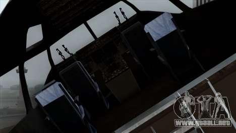 C-17A Globemaster III PAF para GTA San Andreas vista hacia atrás