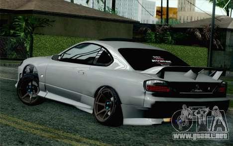 Nissan Silvia S15 SuperHero para GTA San Andreas left