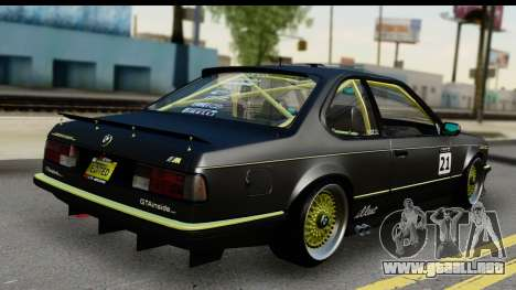 BMW M635 E24 CSi 1984 para GTA San Andreas left