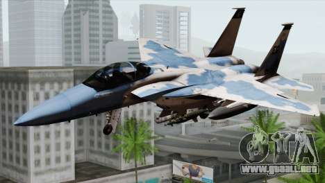 F-15E Artic Blue para GTA San Andreas