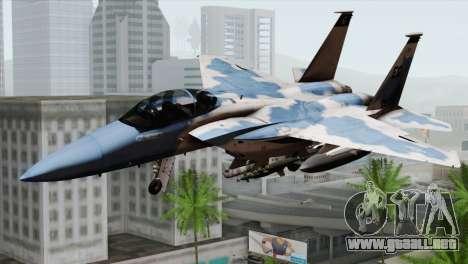 F-15E Artic Blue para GTA San Andreas