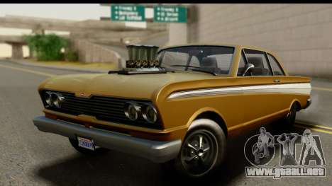 GTA 5 Vapid Blade SA Mobile para GTA San Andreas