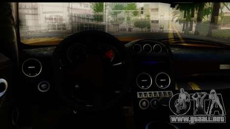 Noble M600 2010 HQLM para vista lateral GTA San Andreas