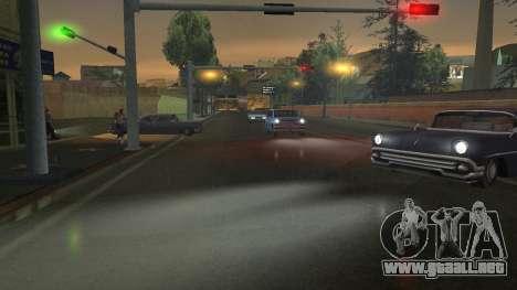 Carretera Reflexiones Fix 1.0 для GTA San Andrea para GTA San Andreas sexta pantalla