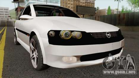 Opel Vectra 2.2 Stock para GTA San Andreas