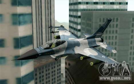 F-16 Osean Air Defense Force para GTA San Andreas