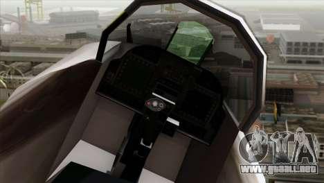 Hydra Eagle para la visión correcta GTA San Andreas