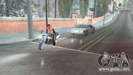 Carretera Reflexiones Fix 1.0 для GTA San Andrea para GTA San Andreas segunda pantalla