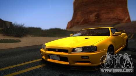 ENBG 2.0 para GTA San Andreas segunda pantalla