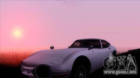 ENB Gamerealfornia v1.00 para GTA San Andreas segunda pantalla