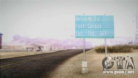 Horizontal ENB 0.076 Medium v1.0 para GTA San Andreas segunda pantalla
